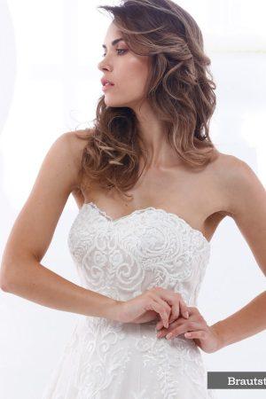 Brautkleid Perle