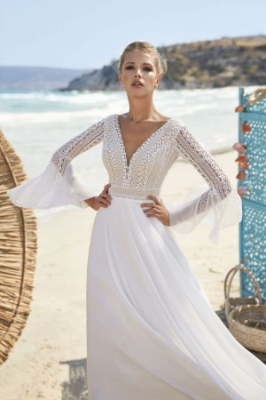 Boho-Chic Hochzeitskleid Haletta