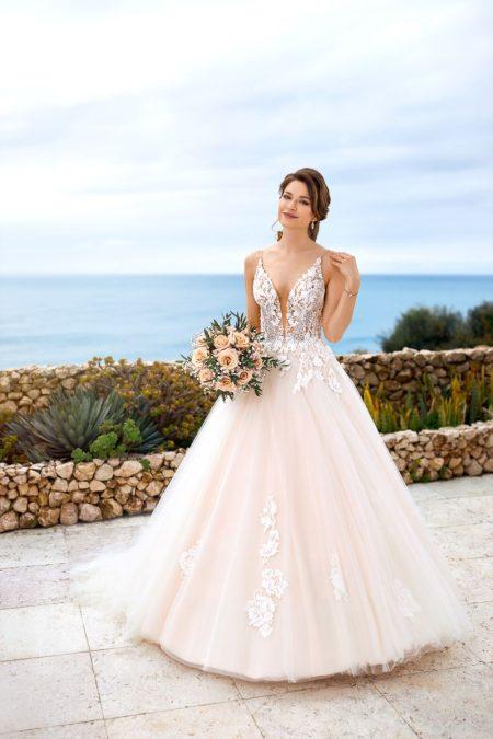 Prinzessinnen-Kleid für die kirchliche Hochzeit